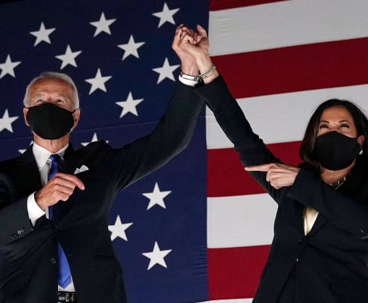 Joe Biden and Kamala Harris Pic
