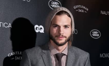 Ashton Kutcher Accepts Award, Is Doing Okay
