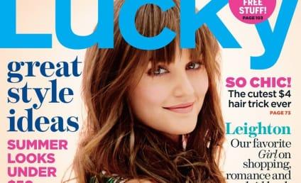 Leighton Meester Talks Gossip Girl, Fashion, Life