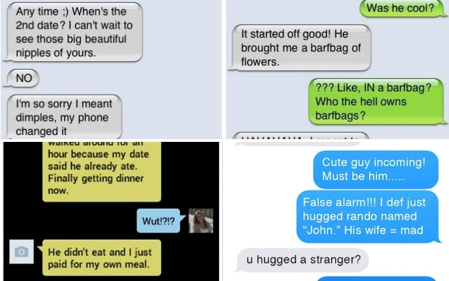 texting a man first