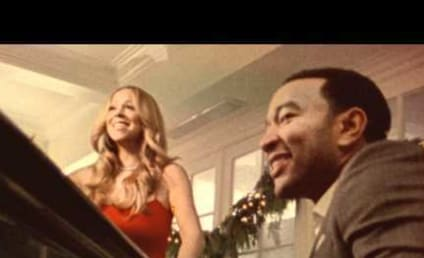 """Awww Alert: Twins Join Mariah Carey and John Legend in Video For """"When Christmas Comes"""""""