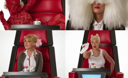 Christina Aguilera Impersonates Britney, Miley, Gaga and More!