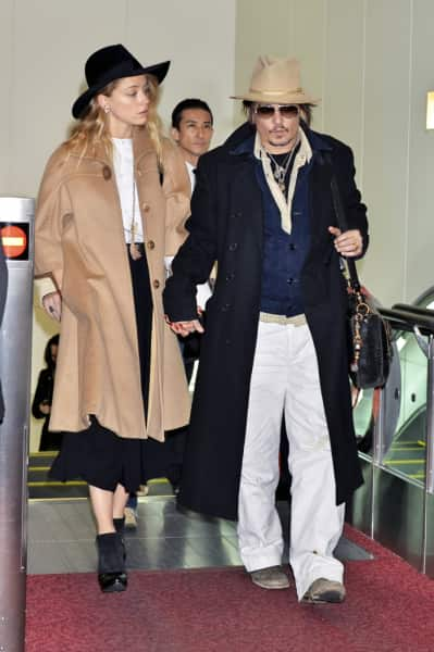 Johnny Depp, Amber Heard Pic