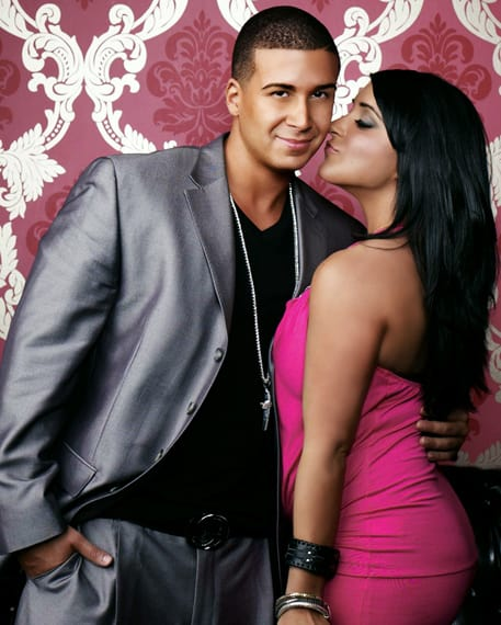 Who is vinny dating from jersey shore