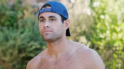 Shirtless Jason Mesnick