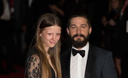 Shia LaBeouf and Mia Goth: ENGAGED!