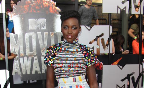 Lupita Nyong'o at MTV Movie Awards