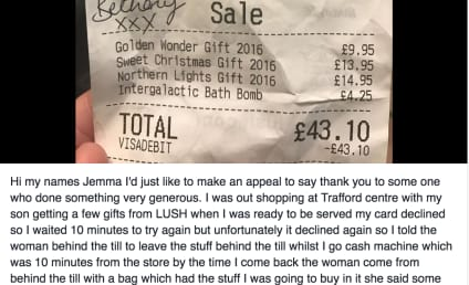 Random Act of Kindness Saves Christmas for One Shopper