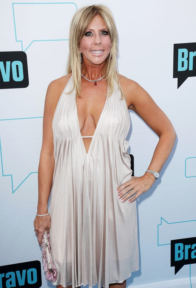 Vickie from orange county housewives is actually a ugly cock suck 7