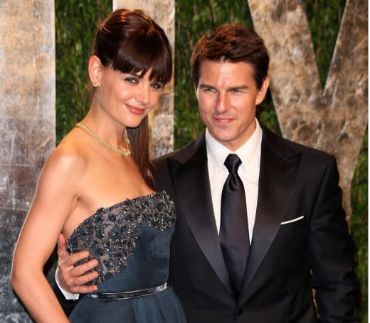 Tom Cruise, Katie Holmes Photo