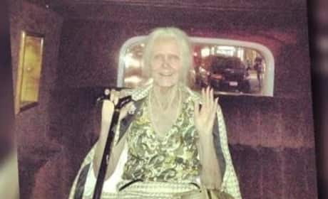Heidi Klum Halloween Costume: A Very Old Lady