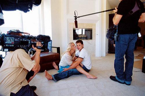 Nick Lachey and Jessica Simpson on Newlyweds