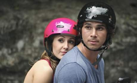 Ashley Hebert and Ben Flajnik