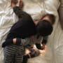 Mason Disick Kissing Penelope