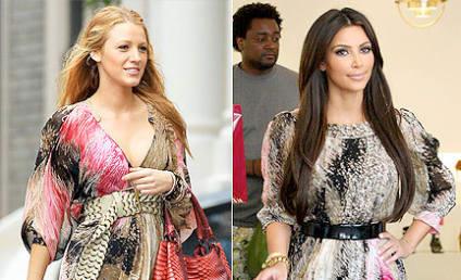 Fashion Face-Off: Blake Lively vs. Kim Kardashian