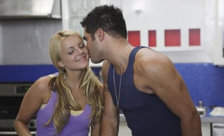 Ali Fedotowsky and Justin Rego