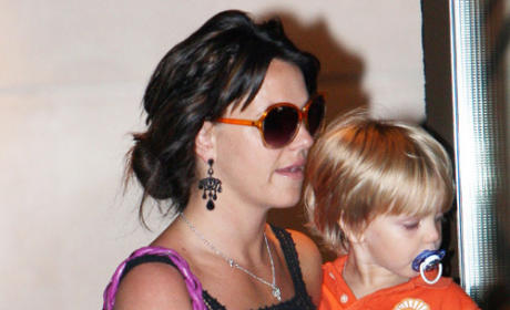Jayden James, Britney Spears Picture