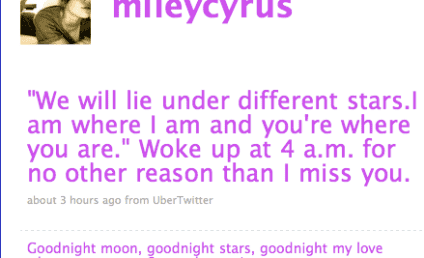 Miley Cyrus Throws Herself a Pity Party Via Twitter