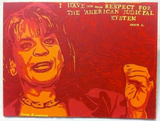George Zimmerman Painting