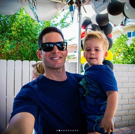 Tarek El Moussa and Brayden