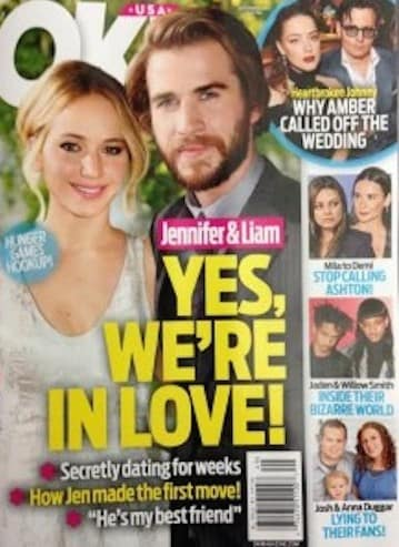 Hemsworth liam dating jennifer