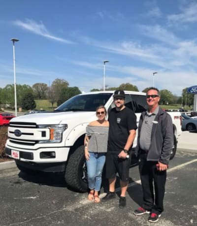 Ryan Edwards and Mackenzie Standifer New Truck