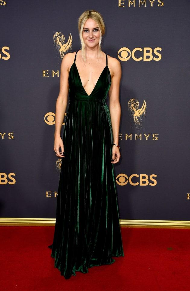 Shailene Woodley at 2017 Emmys