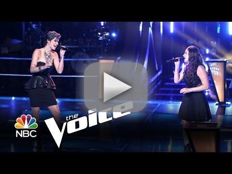 Megan Ruger vs. Audra McLaughlin: 'The Climb' (The Voice)