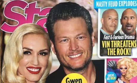 Gwen Stefani Blake Shelton Star August 29th 2016