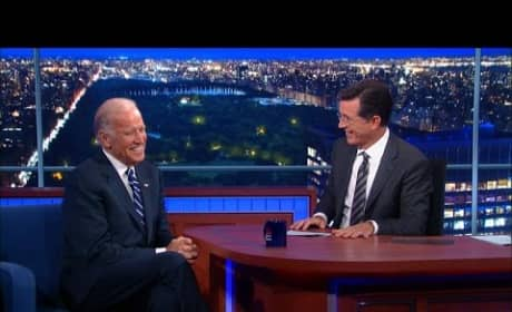 Joe Biden Opens Up to Stephen Colbert About Late Son