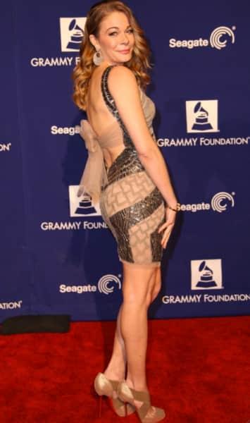 LeAnn Rimes at Grammys 2013
