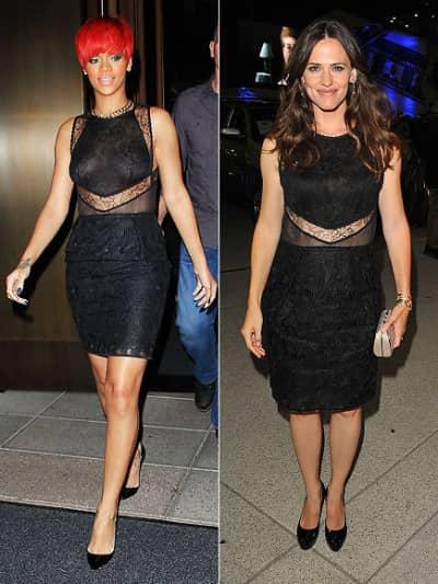 Rihanna and Jen