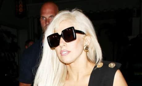 Lady Gaga Dressed Normally