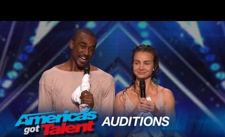 Freckled Sky Earns Golden Buzzer on America's Got Talent