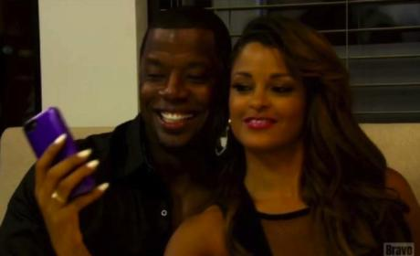 Claudia Jordan and Kordell Stewart