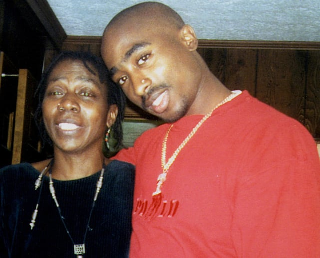 Tupac Shakur, Mother
