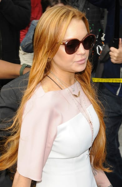 Lindsey Lohan Court Pic