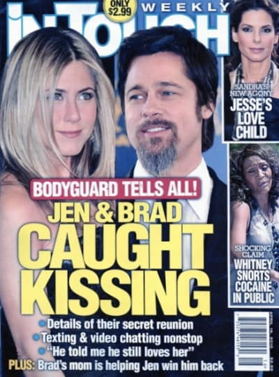 Caught Kissing!