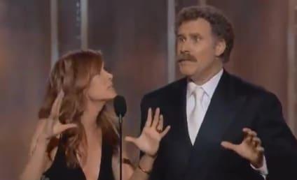 Will Ferrell and Kristen Wiig: Best. Award Presenters. Ever.