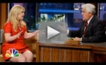 Kelly Clarkson on the Tonight Show With Jay Leno