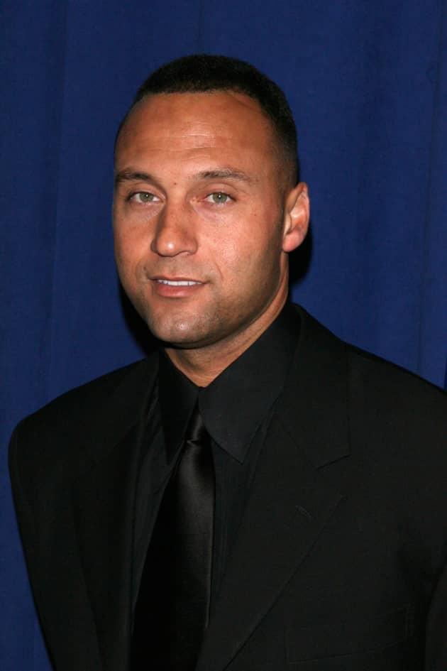 Derek Jeter in Black