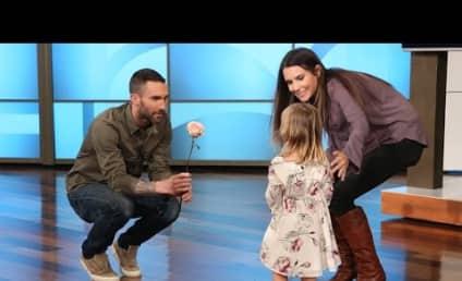 Adam Levine Meets Biggest, Most Adorable Fan