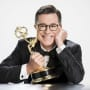 Stephen Colbert Holds Emmy