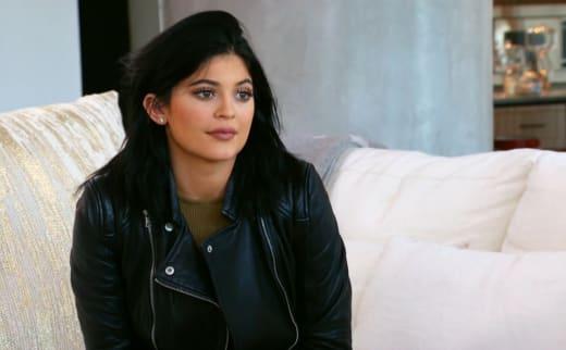 Kylie Jenner Rocks Leather