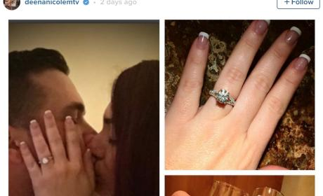 Deena Nicole Cortese Announces Engagement on Instagram