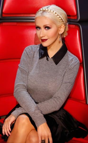 Christina Aguilera on NBC's The Voice