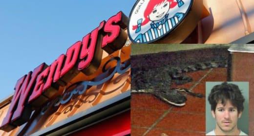 Wendy's Gator FL Man