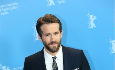 Ryan Reynolds Looking Superhero Ready