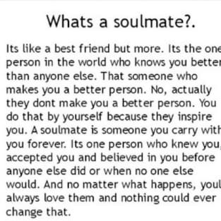 Whats a Soulmate?.
