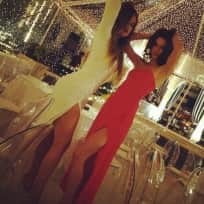 Khloe and Kendall